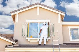 residential painting company preparation for exterior painting